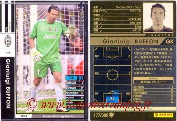2013-14 - WCCF - N° 177 - Gianluigi BUFFON (Juventus FC)