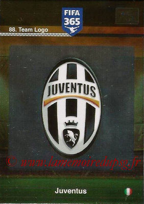 2015-16 - Panini Adrenalyn XL FIFA 365 - N° 088 - Ecusson Juventus FC (Team Logo)