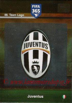 2015-16 - Panini Adrenalyn XL FIFA 365 - N° 088 - Ecusson Juventus FC (Team Logo)