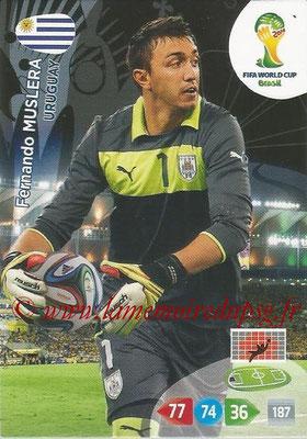 2014 - Panini FIFA World Cup Brazil Adrenalyn XL - N° 305 - Fernando MUSLERA (Uruguay)