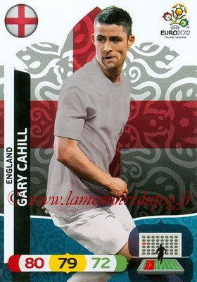 Panini Euro 2012 Cards Adrenalyn XL - N° 045 - Gary CAHILL (Angleterre)