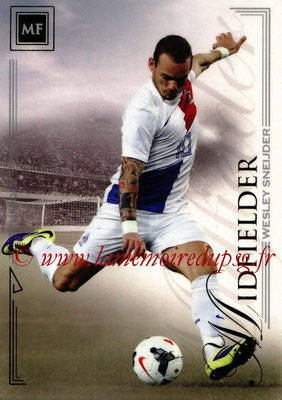 2014 - Futera World Football Unique - N° 060 - Wesley SNEIJDER (Midfielder)