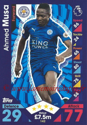 2016-17 - Topps Match Attax Premier League - N° 142
