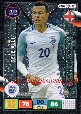 2018 - Panini Road to FIFA World Cup Russia Adrenalyn XL - N° ENG13 - Dele ALLI (Angleterre) (Game Changer)