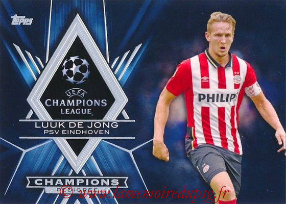 2015-16 - Topps UEFA Champions League Showcase Soccer - N° CP-LD - Luuk de JONG (PSV Eindhoven) (Champions Pedigree)