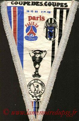 Grands Fanions  PSG-Juventus Turin  1983-84