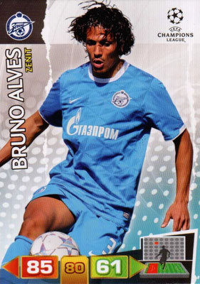 2011-12 - Panini Champions League Cards - N° 268 - Bruno ALVES (FC Zenit)