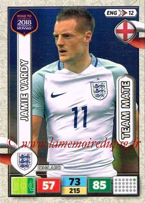 2018 - Panini Road to FIFA World Cup Russia Adrenalyn XL - N° ENG12 - Jamie VARDY (Angleterre)