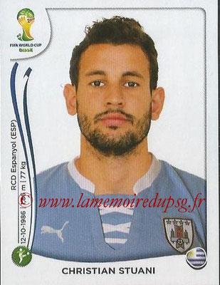2014 - Panini FIFA World Cup Brazil Stickers - N° 274 - Christian STUANI (Uruguay)