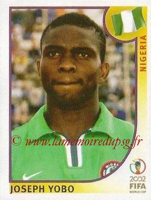 2002 - Panini FIFA World Cup Stickers - N° 409 - Joseph YOBO (Nigéria)