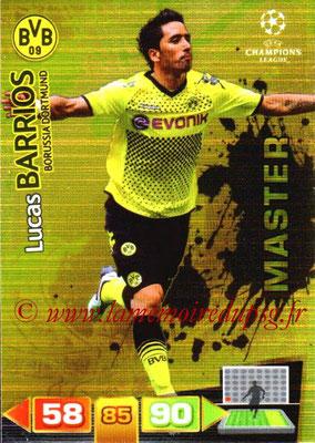 2011-12 - Panini Champions League Cards - N° 332 - Lucas BARRIOS (Borussia Dortmund) (Master)