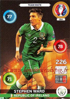 Panini Euro 2016 Cards - N° 284 - Stephen WARD (République d Irlande)