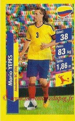 N° 085 - Mario YEPES (2004-08, PSG > 2014, Colombie)