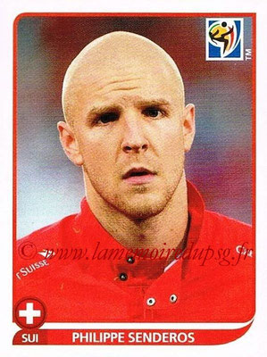 2010 - Panini FIFA World Cup South Africa Stickers - N° 588 - Philippe SENDEROS (Suisse)
