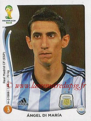 N° 425 - Angel DI MARIA (2014, Argentine > 2015-??, PSG)