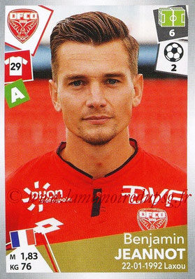 2017-18 - Panini Ligue 1 Stickers - N° 122 - Benjamin JEANNOT (Dijon)