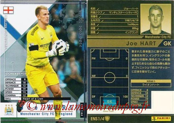 2013-14 - WCCF - N° ENS1 - Joe HART (Manchester City FC) (English Superstars)