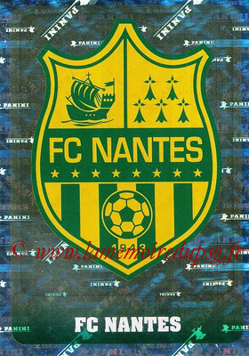 2018-19 - Panini Ligue 1 Stickers - N° 276 - Ecusson Nantes