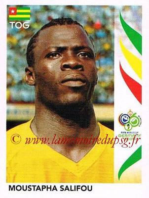 2006 - Panini FIFA World Cup Germany Stickers - N° 525 - Moustapha SALIFOU (Togo)