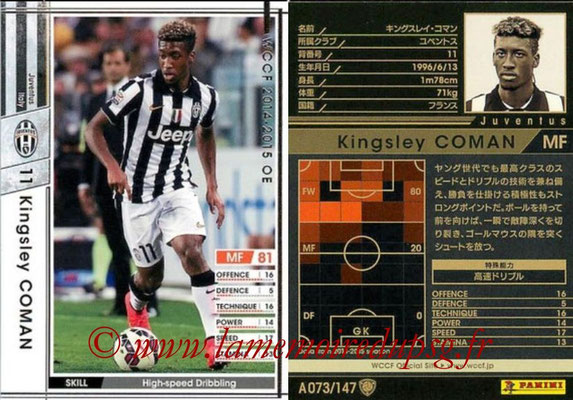 2014-15 - WCCF - N° A073 - Kingsley COMAN (Juventus FC)