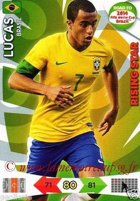 N° 019 - LUCAS (Janv 2013-??, PSG > 2014, Brésil) (Rising star)