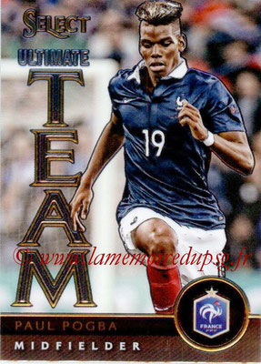 2015 - Panini Select Soccer - N° UT13 - Paul POGBA (France) (Ultimate Team)