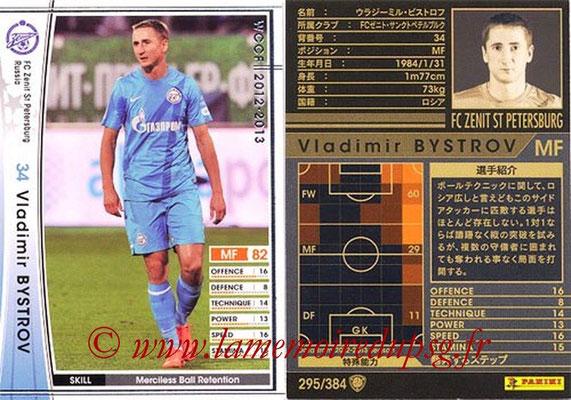 2012-13 - WCCF - N° 295 - Vladimir BYSTROV (FC  Zenit)