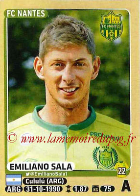 2015-16 - Panini Ligue 1 Stickers - N° 310 - Emiliano SALA (FC Nantes)