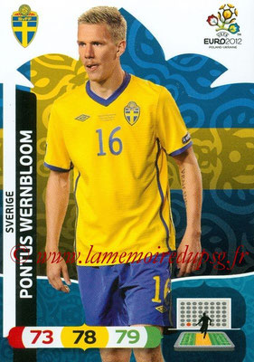Panini Euro 2012 Cards Adrenalyn XL - N° 208 - Pontus WERNBLOOM (Suède)