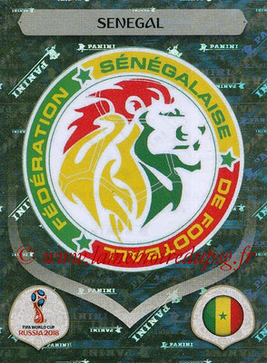 2018 - Panini FIFA World Cup Russia Stickers - N° 612 - Ecusson Senegal
