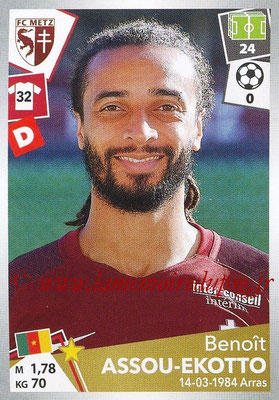 2017-18 - Panini Ligue 1 Stickers - N° 236 - Benoît ASSOU-EKOTTO (Metz)