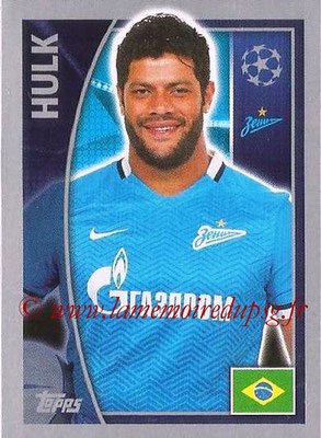 2015-16 - Topps UEFA Champions League Stickers - N° 532 - HULK (FC Zenit)