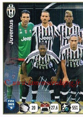 2015-16 - Panini FIFA 365 Stickers - N° 567 - Equipe Juventus FC 1