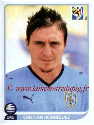 N° 078 - Cristian RODRIGUEZ (2005-Août 07, PSG > 2010, Uruguay)
