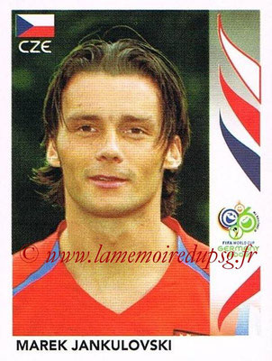 2006 - Panini FIFA World Cup Germany Stickers - N° 363 - Marek JANKULOVSKI (République Tchèque)