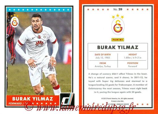 2015 - Panini Donruss Soccer - N° 039 - Burak YILMAZ (Galatasaray AS)
