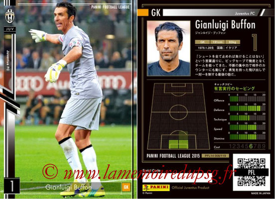 Panini Football League 2015 - PFL14 - N° 008 - Gianluigi BUFFON (Juventus FC)