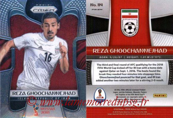 2018 - Panini Prizm FIFA World Cup Russia - N° 114 - Reza GHOOCHANNEJHAD (Iran)