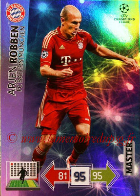 2012-13 - Adrenalyn XL champions League N° 331 - Arjen ROBBEN (FC Bayern Munich) (Master)