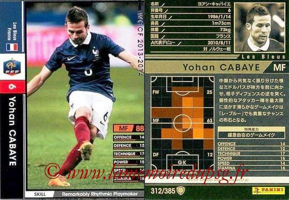 N° 312 - Yohan CABAYE (France)