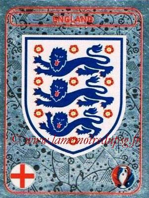 Panini Euro 2016 Stickers - N° 122 - Logo Angleterre