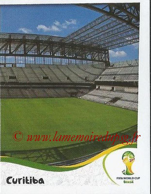2014 - Panini FIFA World Cup Brazil Stickers - N° 015 - Arena da Baixada - Curitiba (2)