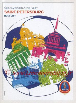 2018 - Panini FIFA World Cup Russia Stickers - N° 023 - Saint Petersburg