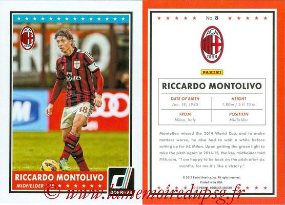 2015 - Panini Donruss Soccer - N° 008 - Riccardo MONTOLIVO (Milan AC)