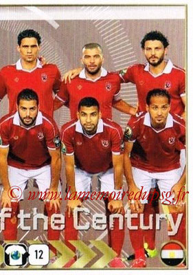 2015-16 - Panini FIFA 365 Stickers - N° 298- Equipe Al Ahly SC 2