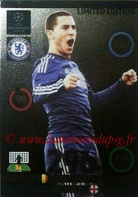 2014-15 - Adrenalyn XL champions League Update edition N° LEU-EH - Eden HAZARD (Chelsea FC) (Limited Edition)