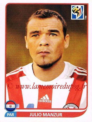 2010 - Panini FIFA World Cup South Africa Stickers - N° 434 - Julio MANZUR (Paraguay)