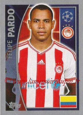 2015-16 - Topps UEFA Champions League Stickers - N° 417 - Felipe PARDO(Olympiacos FC)