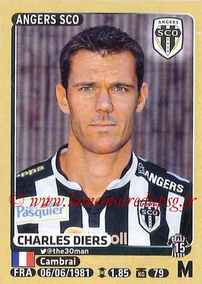 2015-16 - Panini Ligue 1 Stickers - N° 038 - Charles DIERS (SCO Angers)