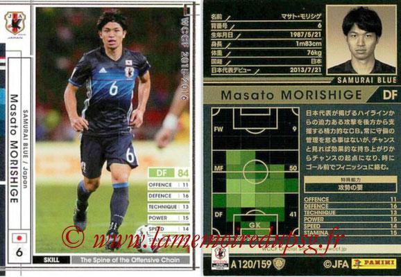 2015-16 - Panini WCCF - N° A120 - Masato MORISHIGE (Japon)